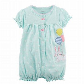 Carter's Bunny Snap-Up Cotton Romper