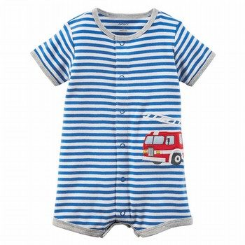 Carter's Firetruck Snap-Up Romper