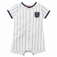 Carter's Baseball Snap-Up Romper