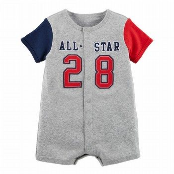 Carter's All-Star Snap-Up Cotton Romper