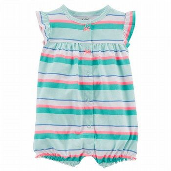 Carter's Crab Snap-Up Cotton Romper