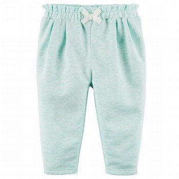 Carter's French Terry Ruffle Pants