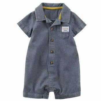 Carter's Chambray Romper