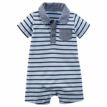 Carter's Striped Romper