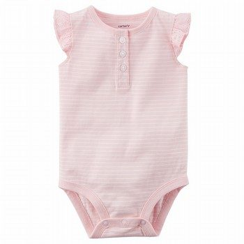 Carter's Flutter-Sleeve Collectible Bodysuit