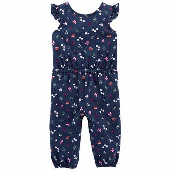 Carter's Bird Flutter Jumpsuit