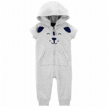 Carter's Dog Hooded Jumpsuit