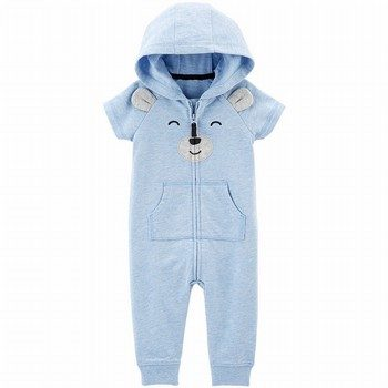 Carter's Bear Hooded Jumpsuit