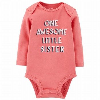 Carter's Awesome Little Sister L/S Collectible Bodysuit