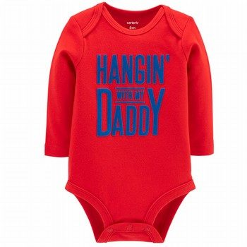 Carter's Hangin' With Daddy Collectible Bodysuit