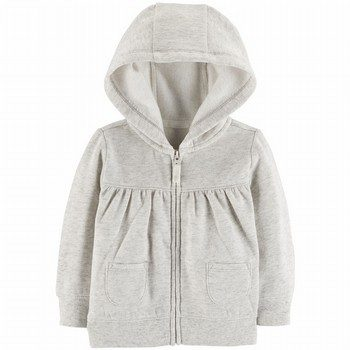 Carter's Zip-Up Sueded Fleece Hoodie