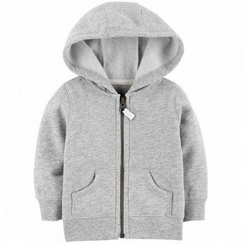 Carter's Zip-Up Fleece-Lined Hoodie