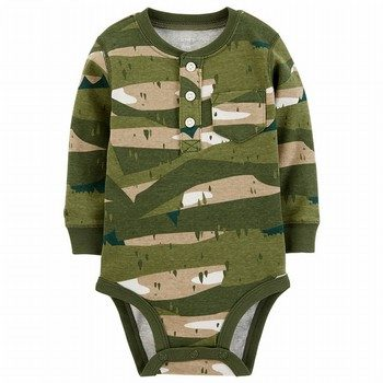 Carter's Camo L/S Collectible Bodysuit