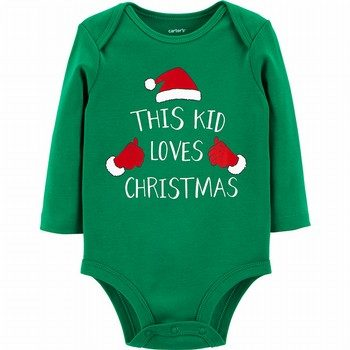 Carter's Christmas Collectible Bodysuit