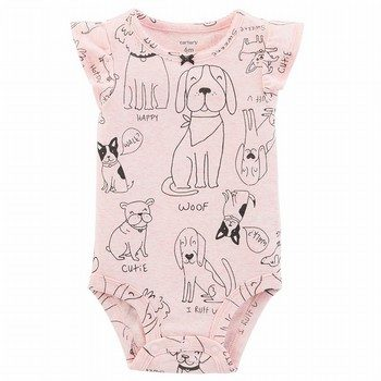 Carter's Dog Print Collectible Bodysuit