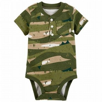 Carter's Camo Collectible Bodysuit