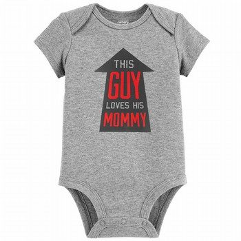 Carter's This Guy Loves His Mommy Collectible Bodysuit