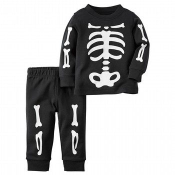 Carter's 2PC Skeleton Set