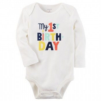 Carter's My 1st Birthday Collectible Bodysuit