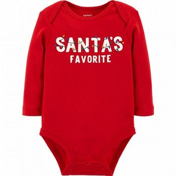 Carter's Santa's Favorite Collectible Bodysuit