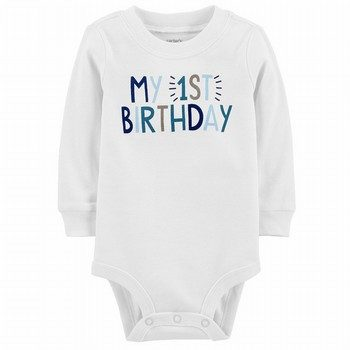 Carter's My 1st Birthday Bodysuit
