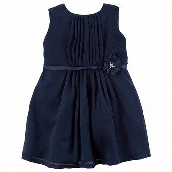 Carter's Holiday Rosette Dress