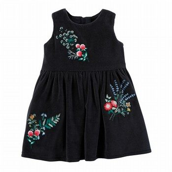 Carter's Floral Holiday Dress