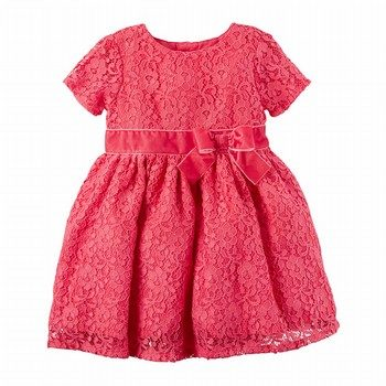 Carter's Lace Holiday Dress