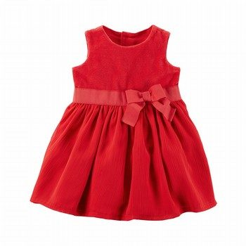 Carter's Holiday Bow Dress
