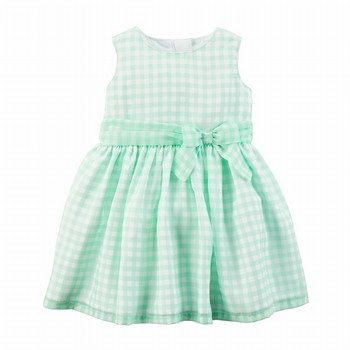 Carter's Striped Bow Dress
