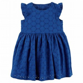 Carter's Embroidered Eyelet Dress