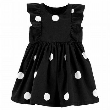 Carter's Polka Dot Ruffle Holiday Dress