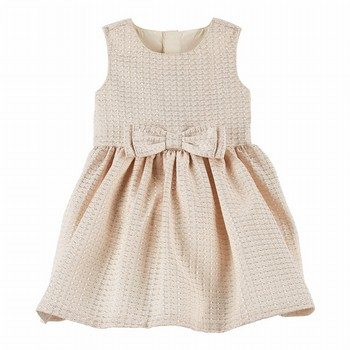 Carter's Jacquard Bow Dress