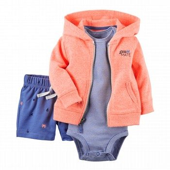 Carter's 3PC Bodysuit & Cardigan Set