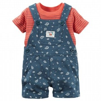 Carter's 2PC Shortall Set