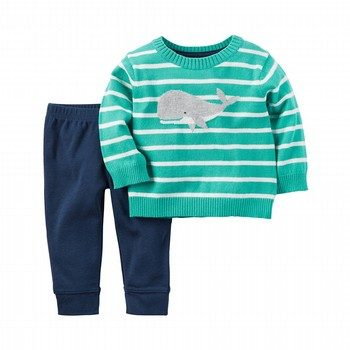 Carter's 2PC Sweater & Pant Set