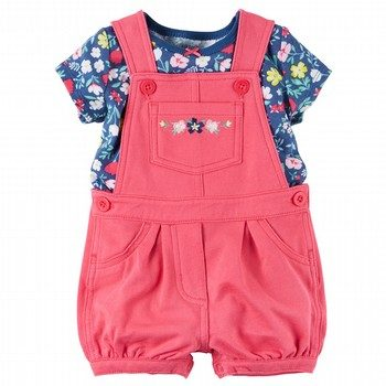 Carter's 2PC Top & Shortalls Set