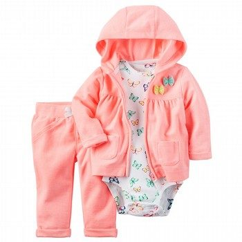 Carter's 3PC Neon Little Jacket Set