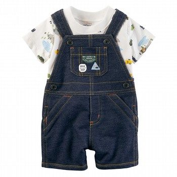 Carter's 2PC Tee & Shortalls Set