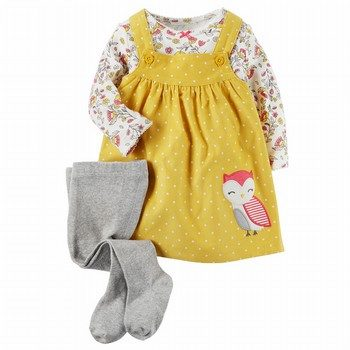 Carter's 3PC Tee & Jumper Set