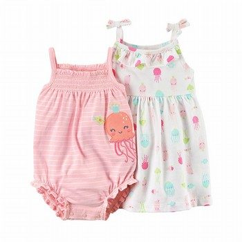 Carter's 2PC Dress & Romper Set