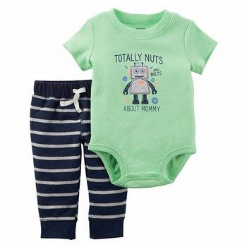 Carter's 2PC Neon Bodysuit Pant Set
