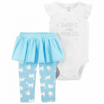 Carter's 2PC Bodysuit & Tutu Pant Set