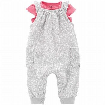 Carter's 2PC Tee & Jumpsuit Set