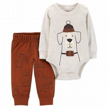 Carter's 2PC Dog Bodysuit & Pant Set