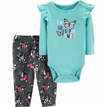 Carter's 2PC Bodysuit & Pant Set