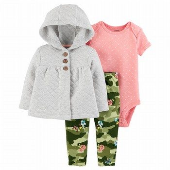 Carter's 3PC Little Cardigan Set