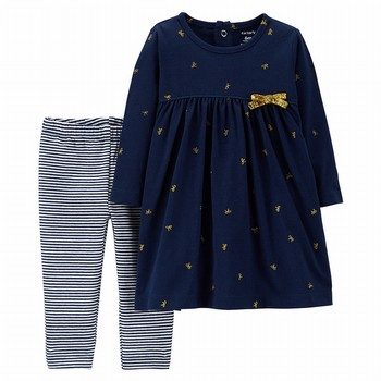 Carter's 2PK Dress & Legging Set