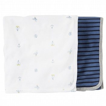 Carter's 2PK Anchor Swaddle Set