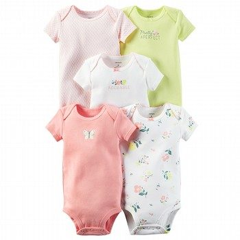 Carter's Little Bloom 5PK Bodysuit Set